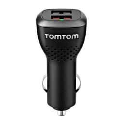 TomTom double chargeur voiture - noir