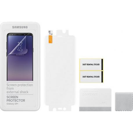 dec3f03f8228ee Samsung protection d écran - transparent - pour Samsung Galaxy S9 Plus