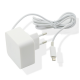 Muvit chargeur maison Apple lightning connecteur - blanc - 2.4 Amp - 1.2m