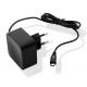Muvit chargeur maison Micro-USB connecteur - noir - 1 Amp - 1.2m